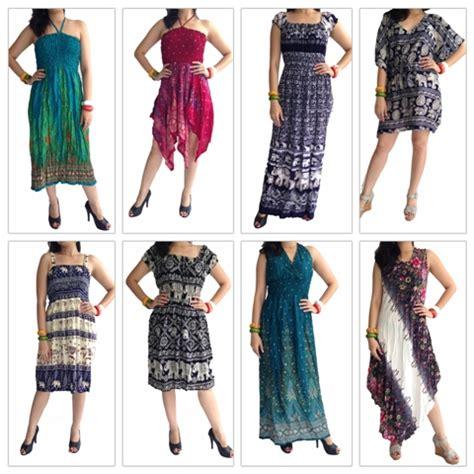 fashion bangkok dress rayon summer beach elegant dress