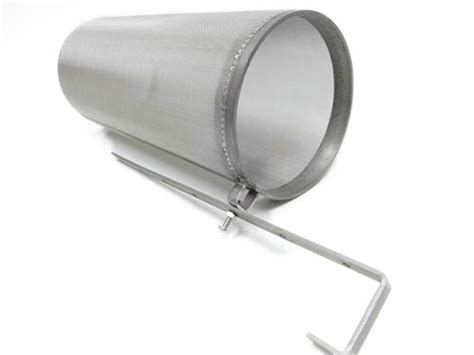 Stainless Steel Hop Filter W/ Adjustable Hook