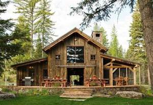 Stunning Homes With In Quarters Ideas by Rustic Cabin In Swan Valley Made Mainly Of Wood And