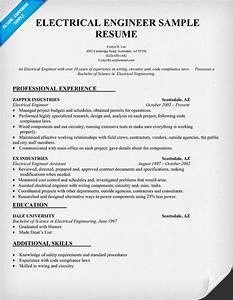 rvwrite blog With sample resume of an electrical engineer