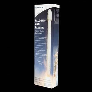 SpaceX Falcon 9/Dragon 1:88 model rocket kit ...