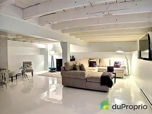 10 facons de finir son sous sol avec un petit budget With peinture mur exterieur couleur 18 decoration maison plafond bas