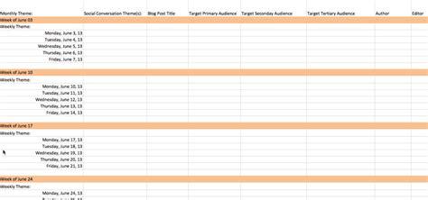 content calendar template ultimate content marketing editorial calendar template every marketer needs pam speaker