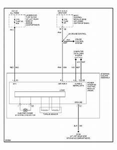 Diagram  Daihatsu Mira Electric Power Steering Wiring