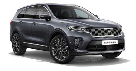 kia sorento 2020 redesign 2020 kia sorento render korean car