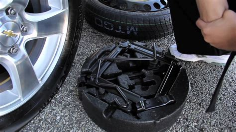 change  flat chevy tire sunrise chevrolet youtube