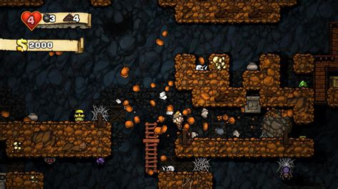 spelunky  update adds pro hud  save backup fixes