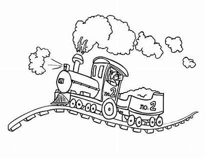 Steam Coloring Locomotive Bumpy Railroad