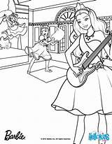 Poodle Drawing Barbie Coloring Pages Printable French Skirt sketch template