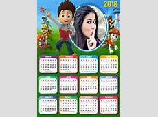 Montagem de fotos Calendário Calendário 2018 Patrulha