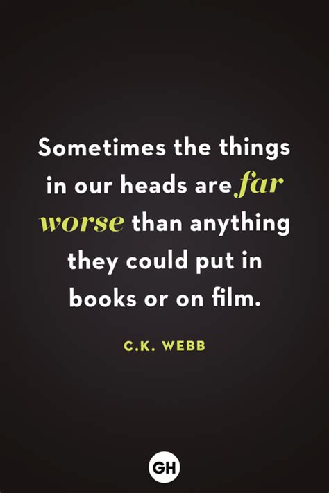 scary quotes creepy sayings  movies books
