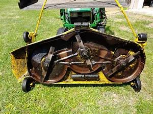 Used John Deere 60-inch Heavy Duty Mower Deck