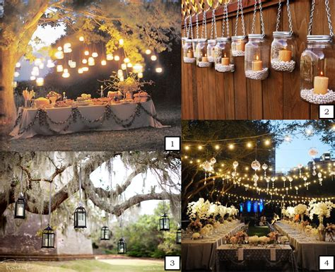 road weddings 187 hanging wedding lights