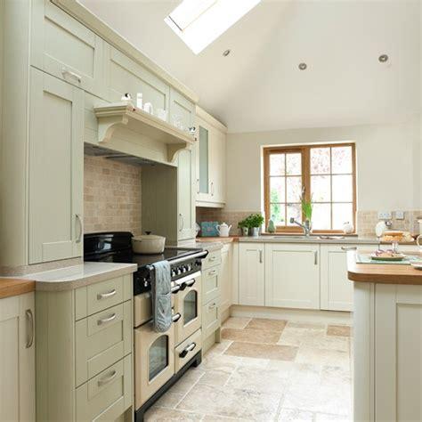 Sage Green And Cream Kitchen  Kitchen Decorating
