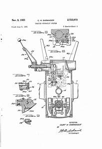 Patent Us2722873 - Tractor Hydraulic System