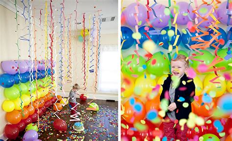 colorful decor adorable party balloons decorations with nice ornamen paper on white ceiling closed simple l