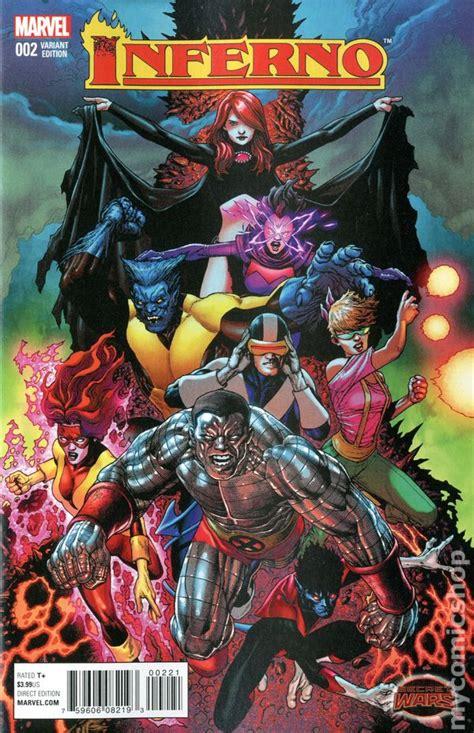 Inferno (2015 Marvel) comic books