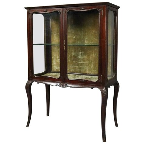 antique china cabinet styles antique french style mahogany r j horner and co china