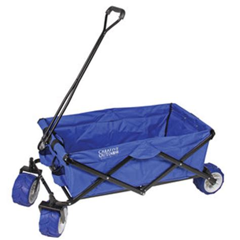 Folding Boat Dock Cart by Creative Outdoor Folding Utility Wagon Blue West Marine