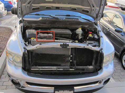 2002 2008 Dodge Ram 1500 Coolant replacement (2002, 2003