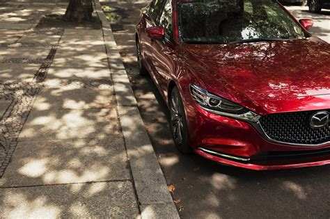 Refreshed 2018 Mazda6 Gets 250 Hp Turbo Engine And New