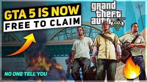 GTA 5 is Going To Be Free on EPIC Games Store?🔥GTA 5 on ...