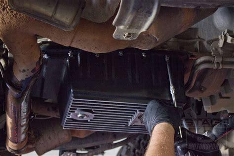 install guide    afe transmission pan