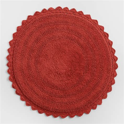 Coral Color Bathroom Rugs by Coral Bath Mat World Market