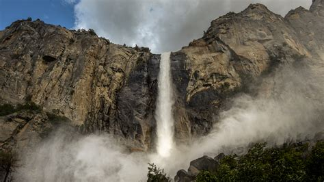 Waterfalls Yosemite National Park Where