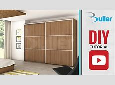 Wardrobe Sliding Door Track for DIY YouTube