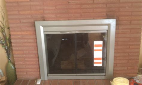 replacement fireplace glass fireplace glass door replacement aifaresidency