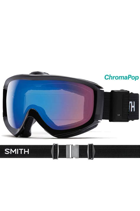 ski goggles with fan smith prophecy turbo fan goggle basin sports