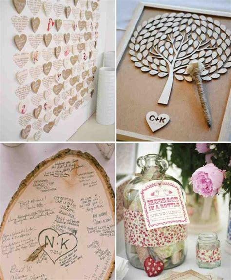 diy wedding guest book ideas wedding and bridal inspiration