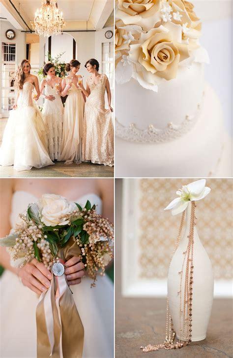 Beige Wedding Decor - beige classic and wedding ideas