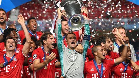 FC Bayern Munich UEFA Champions League 2020 Wallpapers ...