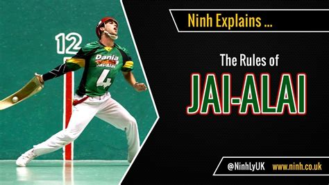 The Rules of Jai Alai - (Cesta Punta) - EXPLAINED! - YouTube