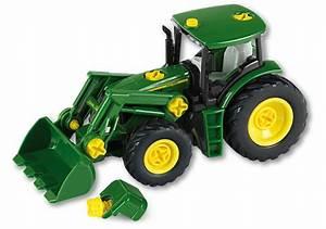 Mini Traktor Mit Frontlader : john deere traktor mit frontlader und gewicht klein toys ~ Kayakingforconservation.com Haus und Dekorationen