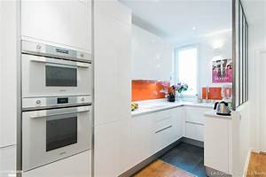 une cuisine ouverte design et sur mesure sk concept la With amenagement jardin petite surface 12 10 decorations pour amenager un balcon habitatpresto