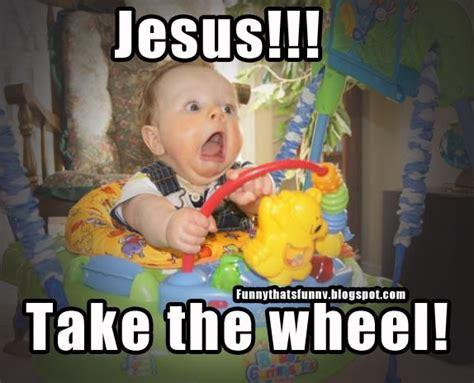 Jesus Take The Wheel Meme - news ultimate hunter predator tremor tanya and jason