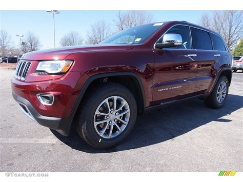 red jeep 2016 2016 velvet red pearl jeep grand cherokee limited