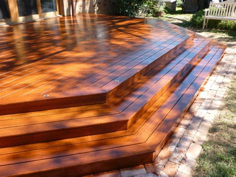 stained decks contemporary patio detroit by ogne