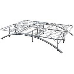 ca king size bow leg metal platform bed frame 14 inch
