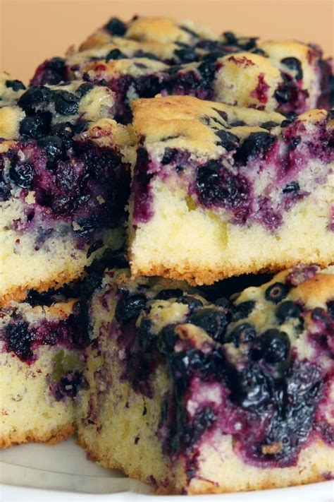 desserts with blueberries blueberry cake dessert recipe recipes pinterest
