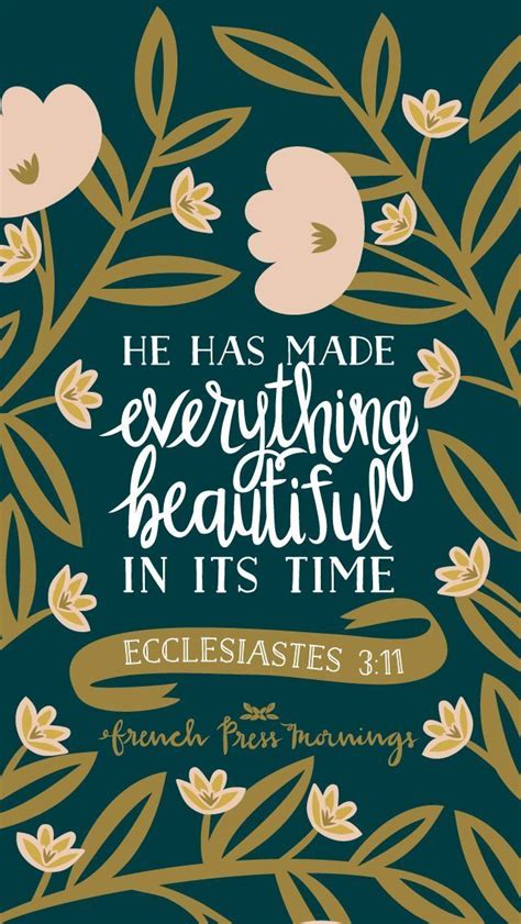 ecclesiastes  french press mornings bible verse typography life inspiration  god