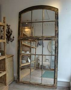 17 useful ways to repurpose old windows homesthetics With miroir mural grande taille