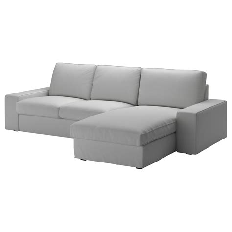 chaises ikéa ikea chaise sofa kivik 3 seat sofa orrsta light grey ikea
