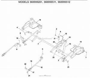 Husqvarna Z4218  968999281   2007  Deck Lift