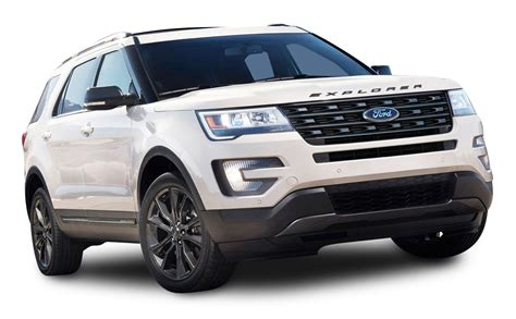 Ford Suv Car by White Ford Explorer Suv Car Png Image Pngpix