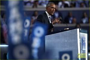 President Obama Praises Hillary Clinton & Slams Donald ...