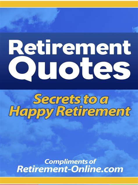 retirement inspirational quotes